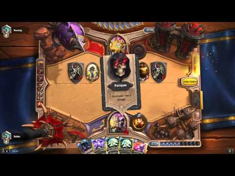 Hearthstone - Awesome One Turn Kill on Priest