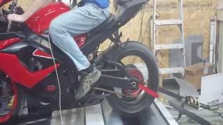 Red/Black 2006 Suzuki GSXR-1000 DYNO DAY!