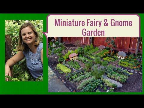 anne of green gardens miniature fairy and gnome garden - Gnome Garden