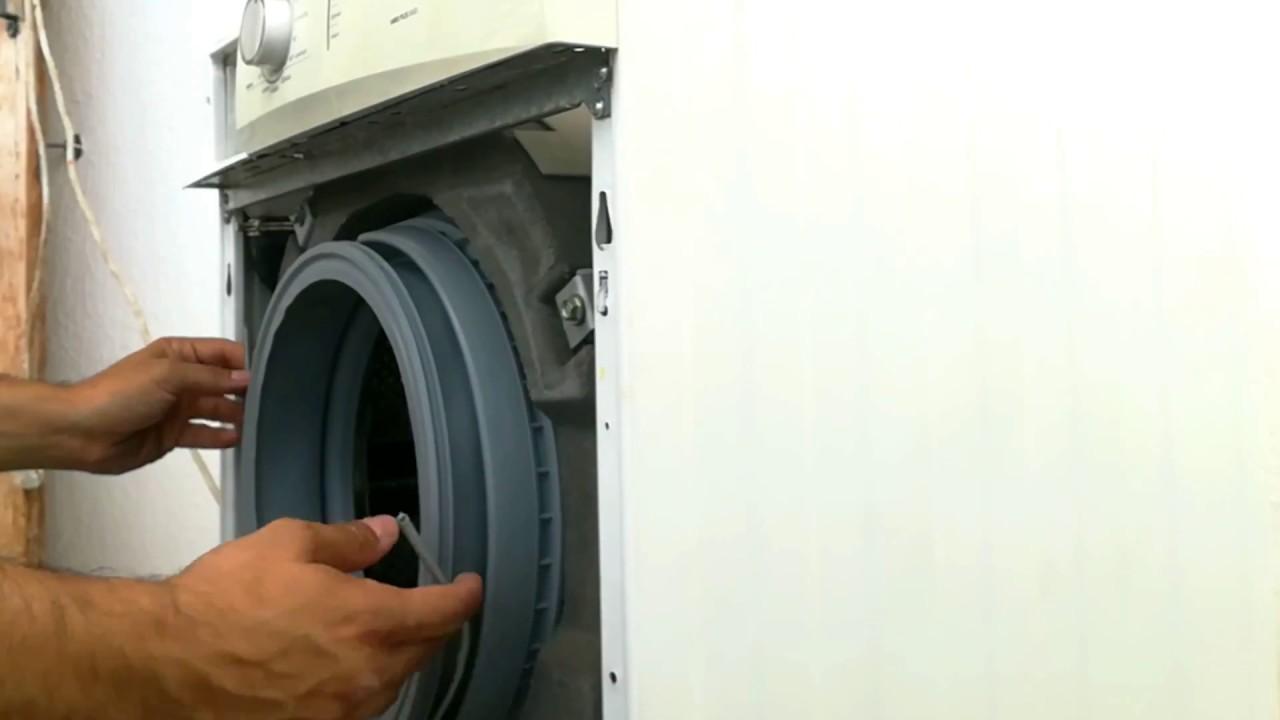 αλλαγή λάστιχου πόρτας σε πλυντήριο Pitsos επταετίας - YouTube 20f46543bb3
