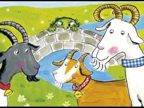 The Three Billy Goats Gruff - YouTube