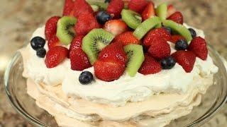 Easy Pavlova Recipe With Strawberries By Rockin Robin