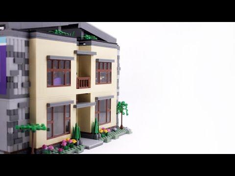 LEGO Modern Mountain House MOC