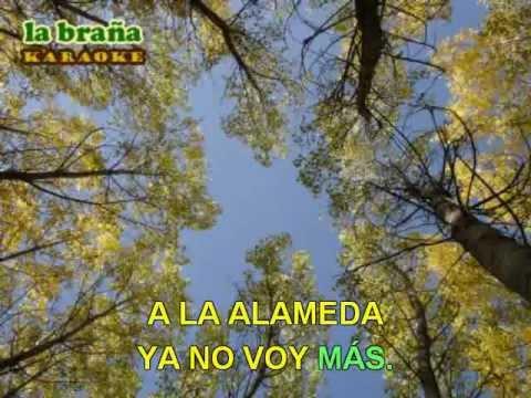 """Los chopos de la alameda - Karaoke """"La Braña"""" (León)"""