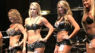 Miss Destination Daytona Swimsuit USA Contest First Round Biketoberfest 2014