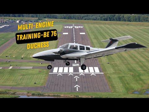 Multi-Engine Training BE76 Duchess