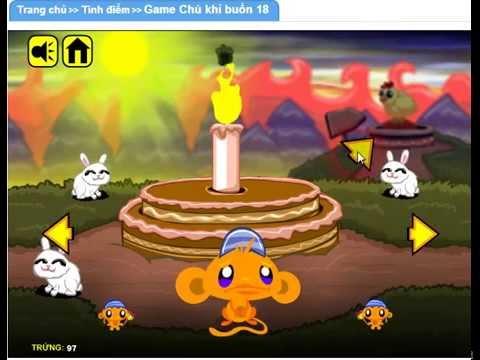 Game Chú khỉ buồn 18 ( Game.24hm.vn )
