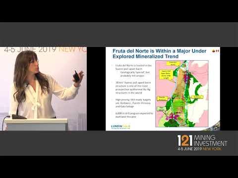 Presentation: Lundin Gold - 121 Mining Investment New York 2019 Spring
