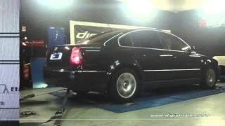 VW Passat 1.9 tdi 130cv Reprogrammation Moteur @ 167cv Digiservices Paris 77 Dyno