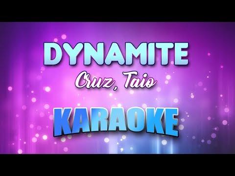 Cruz, Taio - Dynamite (Karaoke Version With Lyrics)