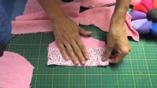 Explicação dos moldes do roupão por Dee Rosa Artesanatos