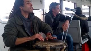 Folclore en los trenes de Buenos Aies - La Negra Tomasa