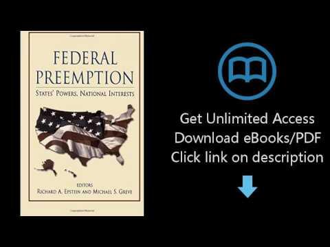 Federal Preemption: States