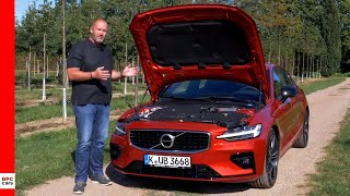 2020 Volvo S60 T5 R Design Test Drive and Car Review