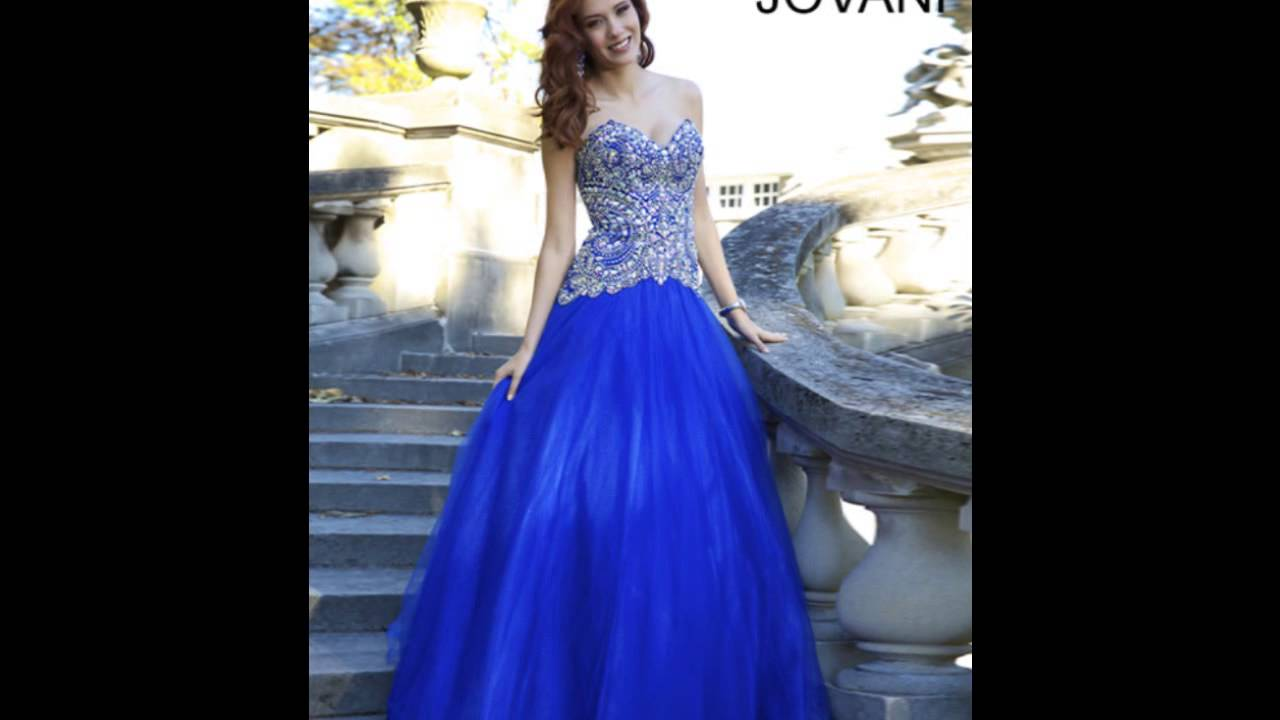 Jovani Prom Dresses 2014 (Long Jovani Dresses) - YouTube