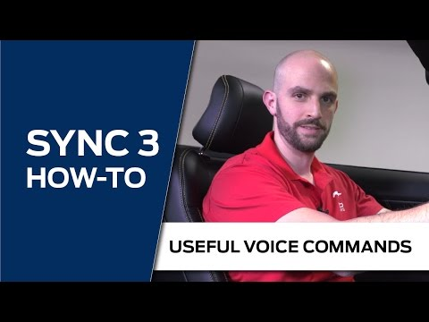 Sync 3 How To Useful Voice Commands Youtube