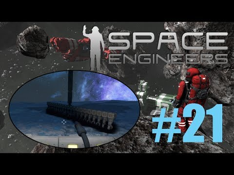 [DANSK] Space Engineers EP 21 - Autonom Mining Outpost