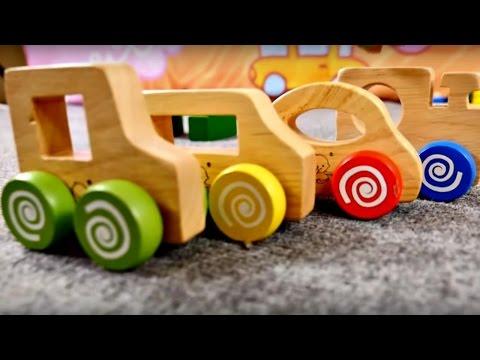 Çocuk filmi - Tahta oyuncaklar - Renkleri öğreniyoruz