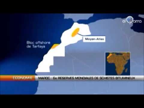 Maroc 6eme réserves mondiales de pétrole
