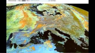2.7.2013 Počasí nad Evropou - opět radary
