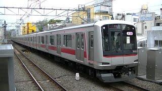 東急5050系5152F各停菊名行き 東横線自由が丘駅入線