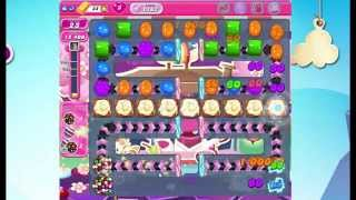 Candy Crush Saga Level 1187, NEW! Complete!