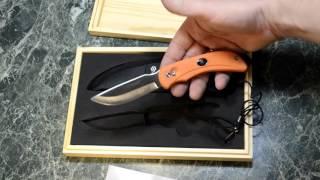 ganzo G802 Double Blade Новый нож 2016 года