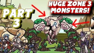 "Clicker Guild Gameplay: Pt 3 - ""HUGE Zone 3 Monsters!"" - PC Walkthrough Strategy"