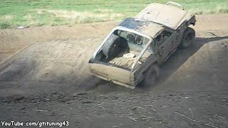Trial 4x4 en Pick-up Nissan Patrol GR