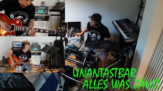 Unantastbar - Alles was zählt (Electric E-Guitar and E-Drum Cover) Full HD