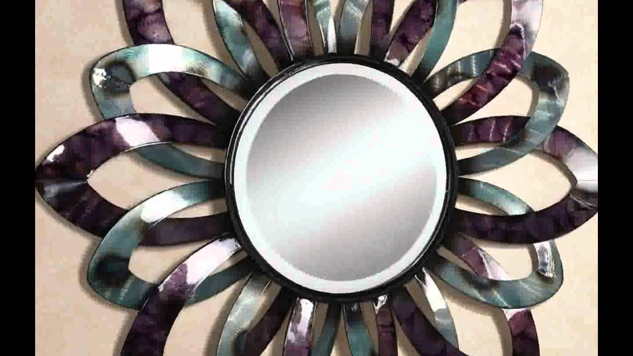 decorative round mirror ideas decoration youtube - Round Decorative Mirror