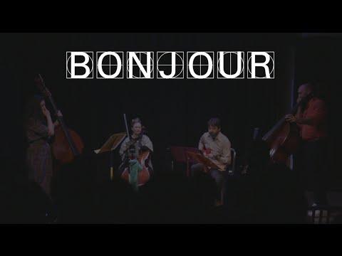 Bonjour: Friday 3PM (live at Tribeca New Music Festival)