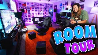 MY INSANE ROOM TOUR 2018 !!! 4 YEARS IN THE MAKING OF THE ULTIMATE GAMING AND SNEAKER SETUP !!!