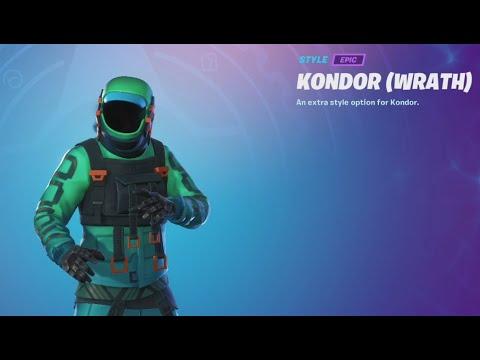 Kondor Skin Showcase In Fortnite Chapter 2 Season 5 Youtube Here are all the new skins through tier 100. kondor skin showcase in fortnite chapter 2 season 5