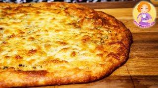 KETO Garlic Cheese Bread Recipe  Low Carb Cheesy Pizza Crust Fat BOMB