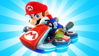 I PLAYED MARIO KART FOR THE FIRST TIME!