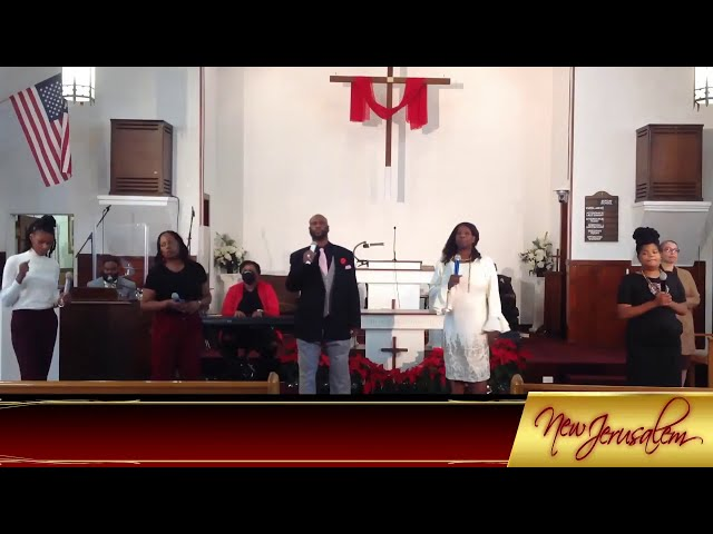 12-31-2020 -  Kevin T. Daniels, Sr., Pastor