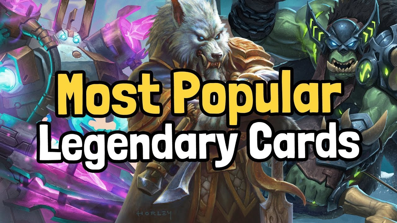 The 10 Most Popular Legendary Cards of the Year - Hearthstone | Supported by HSReplay.net