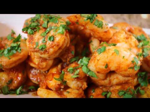 Spicy Shrimp Appetizer (A Mark Bittman  specialty)