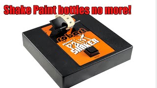 Hobby Paint Shaker Robart Ultimate Convenience Product