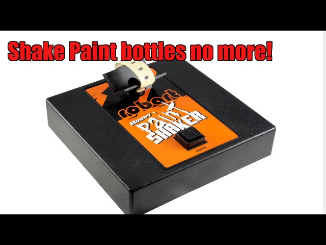 The Hobby Paint Shaker from Robart...The ultimate convenience product!