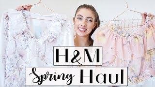 HUGE H&M SPRING HAUL // Lauren Dumonceau