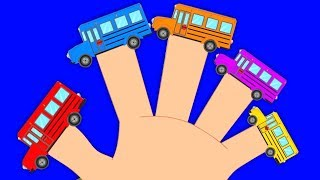 bus familia dedo | canciones de vehículos | ruedas en el bus | Children Rhymes | Bus Finger Family