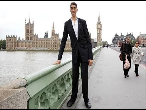 Tallest Man in the World ||Sultan Kösen - New Record ...