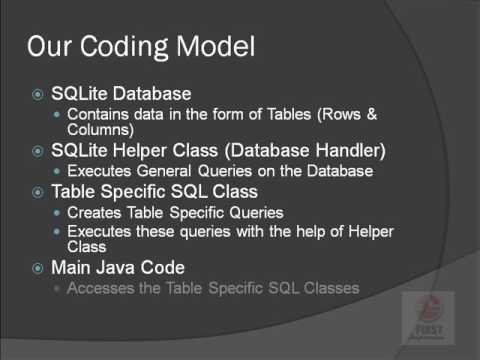 JAP 21 SQLite Complete