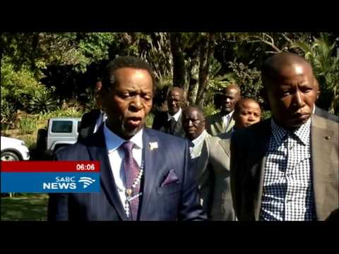 Malema meets King Zwelithini ahead of birthday celebrations
