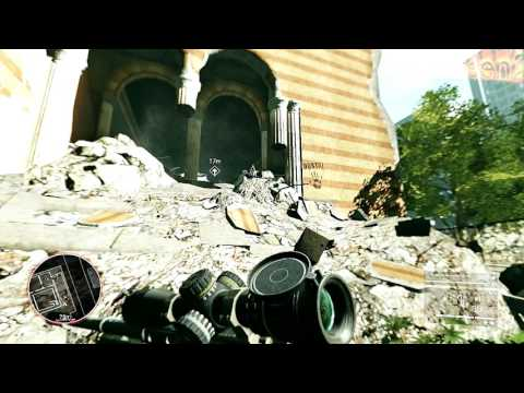 SniperGhostWarrior 2 ACT 2 GHOSTS OF SARAJEVO GAME PLAY