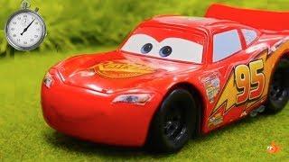 Who's FASTEST - Tayo or Lightning McQueen? - Clock School 🕒 Kids cartoons videos for kids