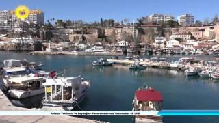 Antalya Yatlimanı Ve Beydağları Panoramalarında Yakamozlar 4K UHD