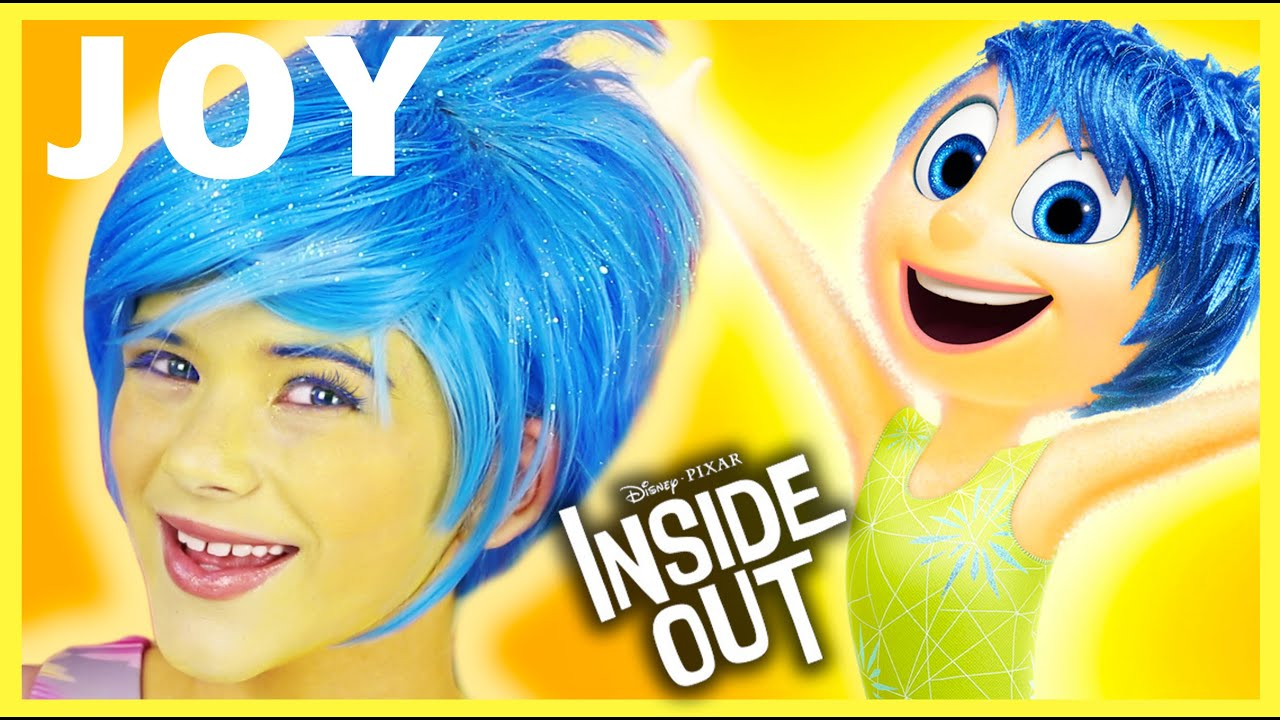 Inside out joy makeup tutorial cosplay or halloween inside out joy makeup tutorial cosplay or halloween kittiesmama youtube solutioingenieria